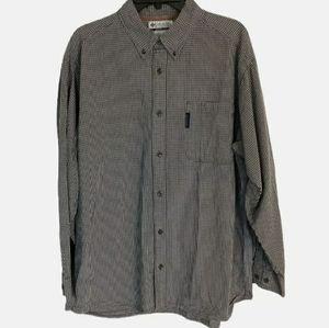 Columbia Plaid Button Long Sleeve Shirt Size XL